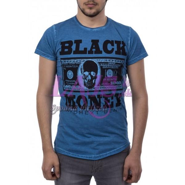 Pánske tričko Madmext - Black Money 23a953a0b80